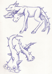 Doldrum Sketches (2011) by Dreyfus2006