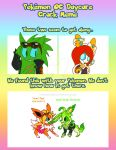 Pokemon Daycare: Scourgani by 5courgesbestbuddy