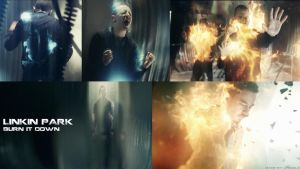 BURN IT DOWN Music Video Wallpaper by LPSoulX
