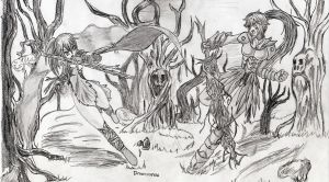 Contest Charon y Ebola of Mirage Noir by D2a3n4i5e6l7
