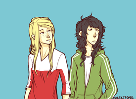 Allis and Charlie - starin like creepers by HJeojeo