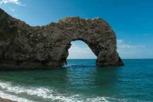 Durdle Door by TazPoltorak