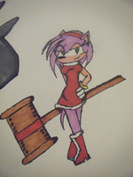 .Amy Rose. by StardustHorizon