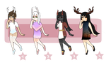collab adopts - OPEN (2/4) by shrimp-adopts