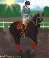 Chagall Dressage Training by RQsf