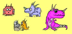 Trigger Monsters by billiambabble
