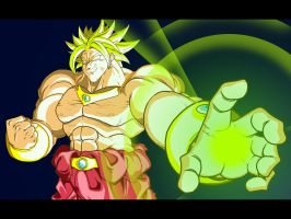 Broly - Big Green Final by eienmic