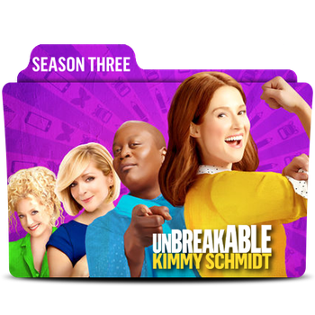 Unbreakable Kimmy Schmidt Season 3 Folder Icon 02 by MaxineChernikoff