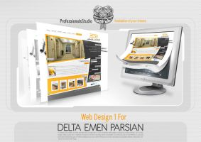 delta imen parsian web site by farandesing
