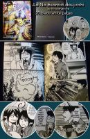 Ao no Exorcist - Night Fight doujinshi by Miruna-Lavinia