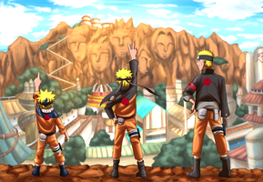 Happy birth day to Naruto. by onegiman