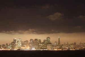 San Francisco at night by virusnac