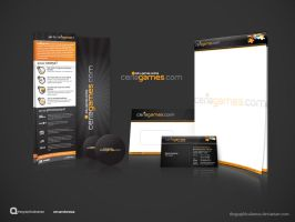 Ceriagames Corporate ID by thegraphicalsense