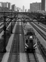 Chicago Metra IX by DanielJButler