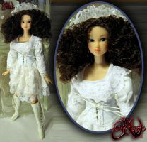 Gothic Summer Aria Custom Doll by jvcustoms