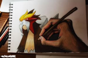 Entei by NChicaGFX