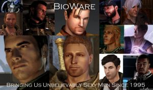 BioWare's Sexy Men by ShadowcatPrime