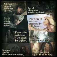Bilbo's Poem with Big Four by 1JoyDreamer