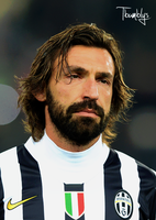 Andrea Pirlo by Tautvis125