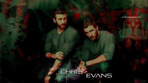 Chris evans wallpaper 03 by HappinessIsMusic