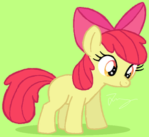 Apple Bloom by HeartinaThePony