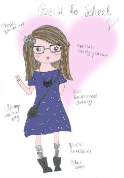 OOTD: Back to school by AMissFancyThing