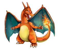 Charizard by MeluuArts