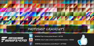 Photoshop Gradients by Naif1470