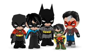 The BatFamily Buddypoke by Ben2DJammin