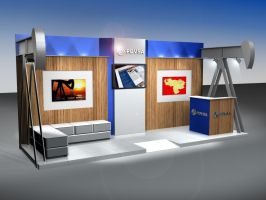 PDVSA Stand Project by ivolajner