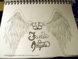 BVB Fallen Angels Hand Drawn View 2 by Gothic-Rebel