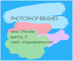 BRUSH PACK 2 : Strokes by chazzief