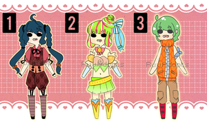 [OPEN!] [1 USD/100 POINTS] ADOPT BATCH 4 by RuuAdopts