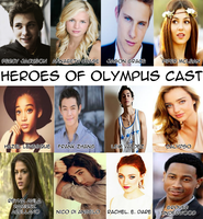 Heroes of Olympus Cast by mynameisshutup