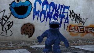 Cookie Monsta3 by buckeyo