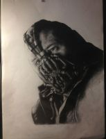 Bane portrait in progress. by JimOfRapture
