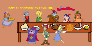 Happy Thanksgiving from the Gummi Bears by alexb22