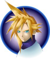 Cloud Strife Vector Graphic by RoydGriffin