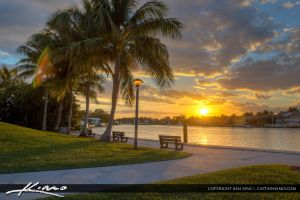 Boca-Raton-Lifestyle-Photos-Red-Reef-Parl-Sunset by CaptainKimo
