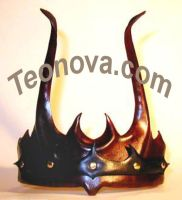 Leather Crown, Celtic Warrior by teonova