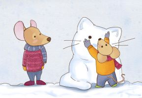 Winter mice by Ines92