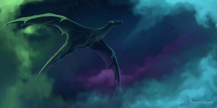 Northern shining clouds by Lailie-Dragon-Lovard