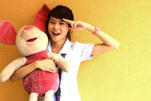 With My Piglet :) by PrincessQuincel