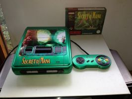 Secret of Mana PAL snes by Hananas-nl