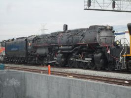 UP 4014 ON THE MOVE by therailfaningboy