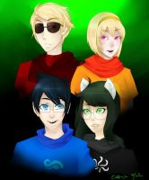 Beta Kids (homestuck) by tsukihime-93