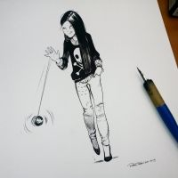 She customized her Yoyo by raultrevino