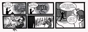 Marble Hornets: Adventure Time by DeathByBacon