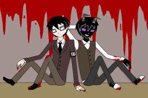 JTHM: Dr. Johnny and Mr. Nny by sayuri12moonlight