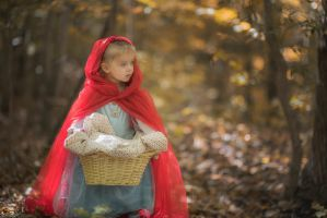 Red Riding Hood 1 by swiftmoonphoto